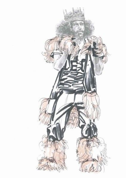 Standing, Art, Artwork, Illustration, Drawing, Costume design, Painting, Line art, Graphics, Animation,