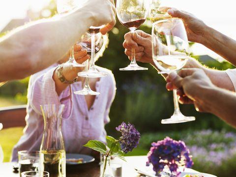 Barware, Glass, Purple, Lavender, Serveware, Drinkware, Stemware, Champagne stemware, Plate, Dishware,