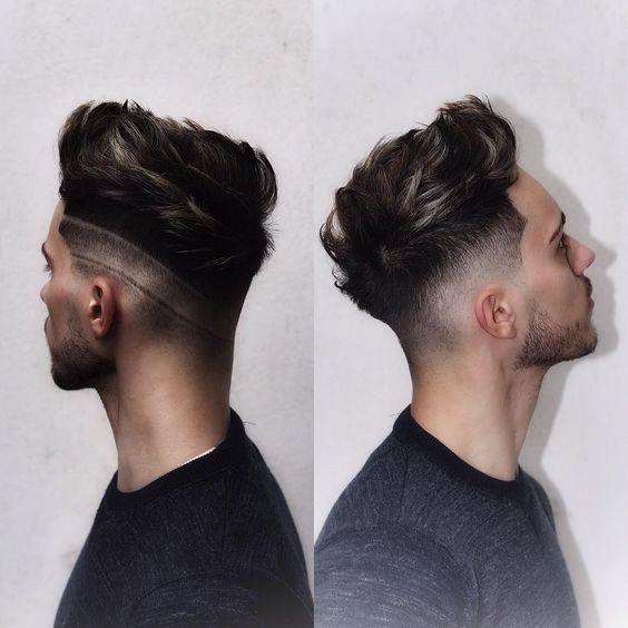 Tagli di capelli neri uomo