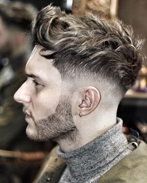 Foto taglio di capelli da uomo