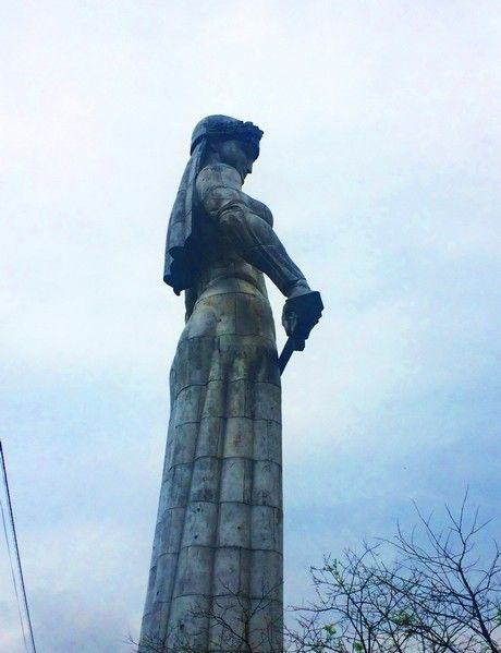 Sky, Sculpture, Standing, Landmark, Carving, Monument, Art, Classical sculpture, Memorial, Statue,