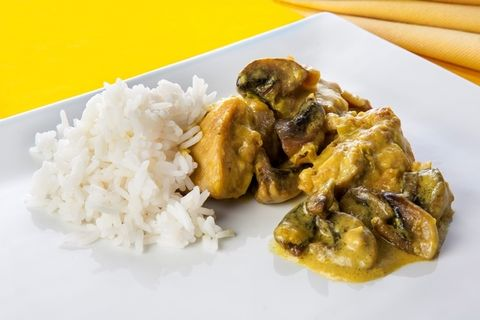Steamed rice, Food, White rice, Rice, Ingredient, Dish, Cuisine, Jasmine rice, Recipe, Rice and curry,