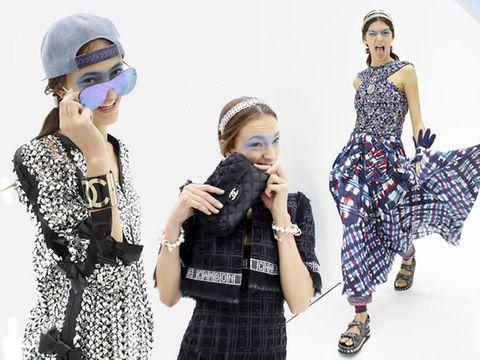Clothing, Pattern, Dress, Style, Fashion accessory, Plaid, Headgear, Fashion, Street fashion, Costume accessory,