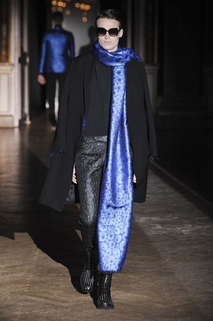 Eyewear, Shoe, Textile, Outerwear, Standing, Coat, Style, Sunglasses, Street fashion, Electric blue,