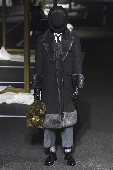 Textile, Outerwear, Coat, Style, Jacket, Bag, Black, Street fashion, Grey, Fur,