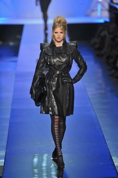 Fashion show, Outerwear, Runway, Fashion model, Fashion, Dress, Electric blue, Model, Blond, Haute couture,