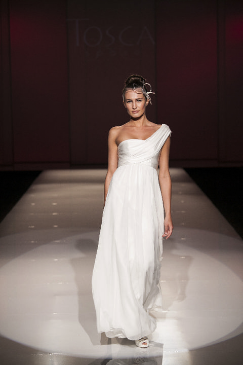 Clothing, Hairstyle, Dress, Shoulder, Textile, Bridal clothing, Joint, Gown, Fashion model, One-piece garment,