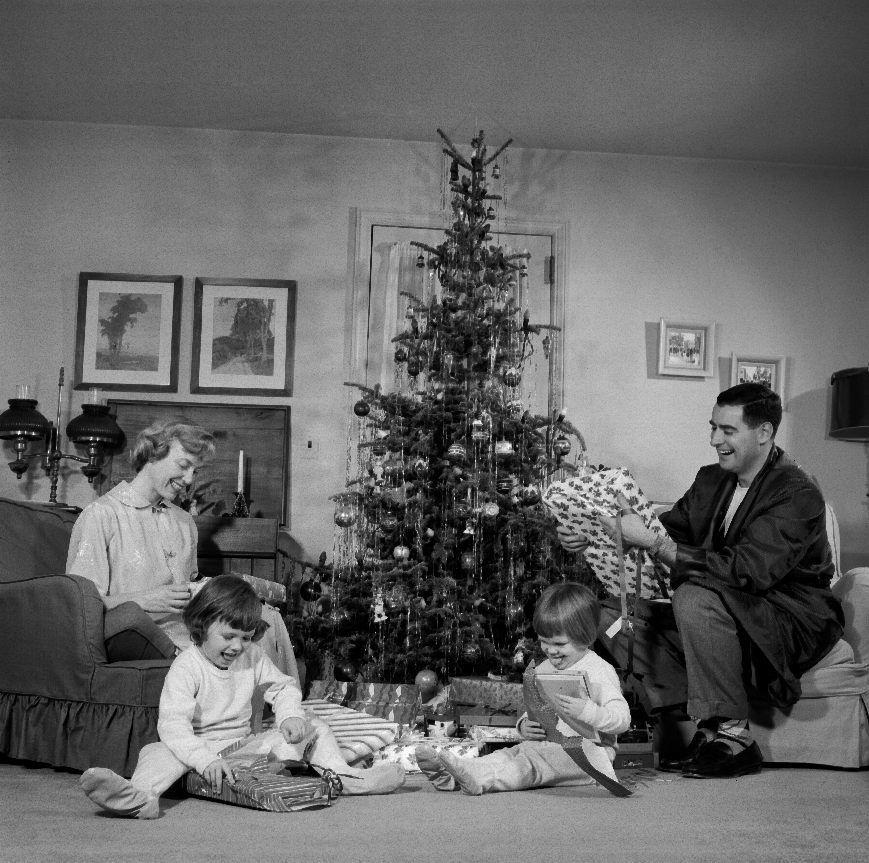 Foto Antiche Di Natale.Foto Vintage E Bianco E Nero Di Natale