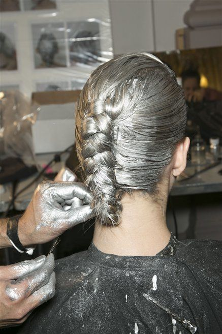 Hairstyle, Style, Wrist, Braid, Nail, Hair coloring, Beauty salon, Tattoo artist, Personal grooming, Tattoo,