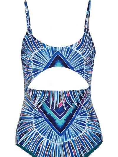 Blue, Costume accessory, Electric blue, Cobalt blue, Necklace, Body jewelry, Graphics, Symbol, Undergarment, Pendant,