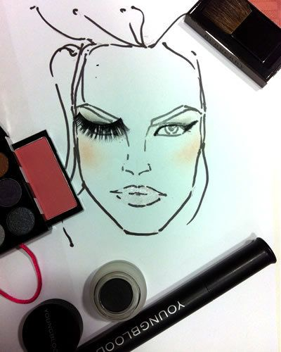 Eyebrow, Art, Artwork, Eyelash, Illustration, Painting, Line art, Cosmetics, Ink, Drawing,