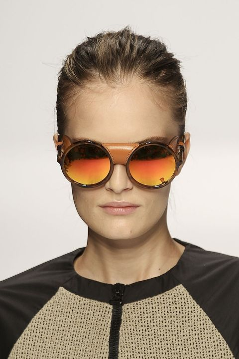 Clothing, Eyewear, Ear, Glasses, Vision care, Earrings, Goggles, Hairstyle, Sunglasses, Forehead,