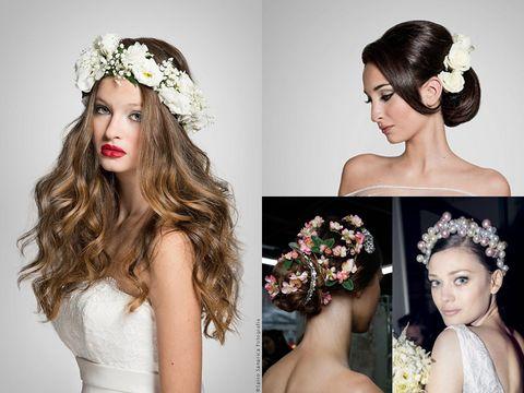 Head, Hairstyle, Eyebrow, Hair accessory, Petal, Photograph, Bridal accessory, Headpiece, Beauty, Style,