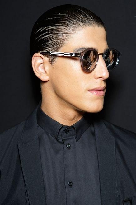 Eyewear, Ear, Vision care, Earrings, Lip, Glasses, Hairstyle, Collar, Sleeve, Sunglasses,