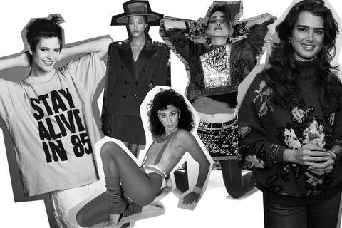 Se pensavate che la moda degli anni  80 fosse sbiadita e che il capitolo  Jane Fonda in fuseaux elasticizzati e scaldamuscoli fosse definitivamente  ... 3fc17544475c