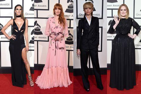 Clothing, Dress, Flooring, Coat, Trousers, Carpet, Outerwear, Red, Suit, Premiere,