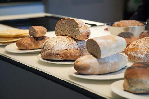 Food, Bread, Ingredient, Baked goods, Cuisine, Gluten, Snack, Dish, Bakery, Bread roll,