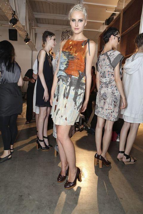Clothing, Footwear, Leg, Dress, Style, Fashion accessory, Fashion, One-piece garment, Youth, Day dress,
