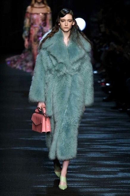 Clothing, Fashion show, Textile, Runway, Outerwear, Winter, Style, Fashion model, Dress, Fashion,