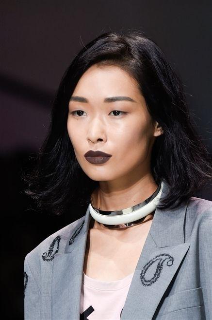 Clothing, Lip, Cheek, Hairstyle, Collar, Skin, Chin, Forehead, Eyebrow, Jewellery,