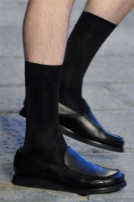 Human leg, Joint, Fashion, Black, Sock, Leather, Ankle, Boot, Balance,