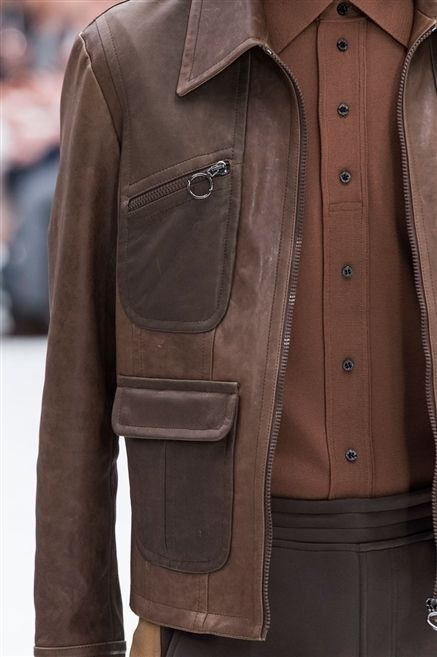 Clothing, Brown, Jacket, Sleeve, Collar, Textile, Coat, Outerwear, Leather, Tan,