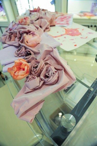 Pink, Peach, Cuisine, Sweetness, Dishware, Artificial flower, Cut flowers, Party favor, Wedding favors, Rose,