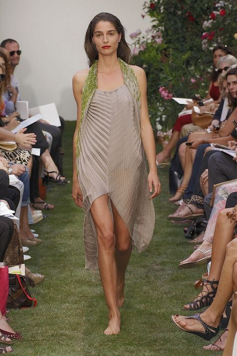 Face, Footwear, Leg, Human leg, Dress, Style, Summer, One-piece garment, Foot, Fashion,