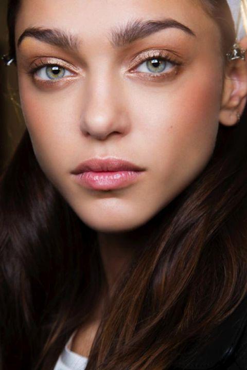 Face, Nose, Lip, Mouth, Cheek, Brown, Hairstyle, Skin, Eye, Eyelash,