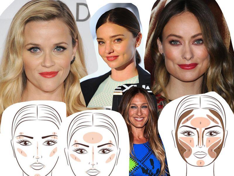 Contouring e strobing: come truccarsi in base alla forma del viso