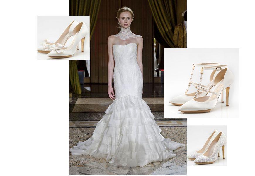 negozi popolari più nuovo di vendita caldo online Enzo Miccio presenta la prima collezione di scarpe sposa