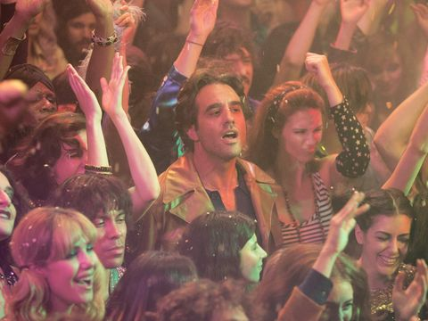 Face, Head, Nose, People, Fun, Crowd, Social group, Hand, Audience, Facial expression,