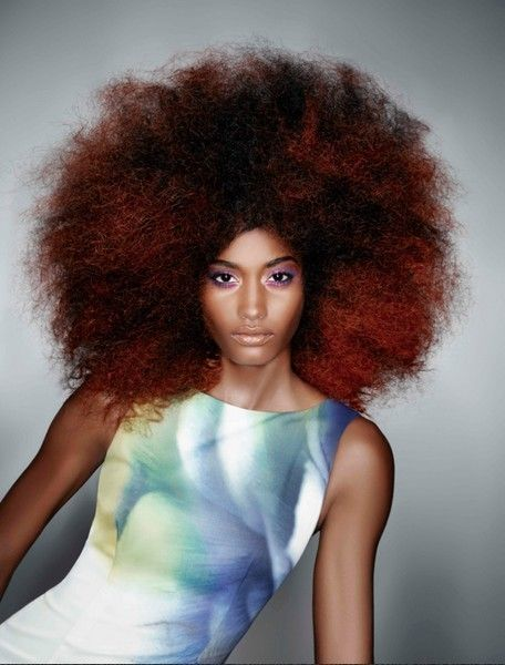 Lip, Hairstyle, Chin, Shoulder, Style, Wig, Jheri curl, Red hair, Ringlet, Afro,