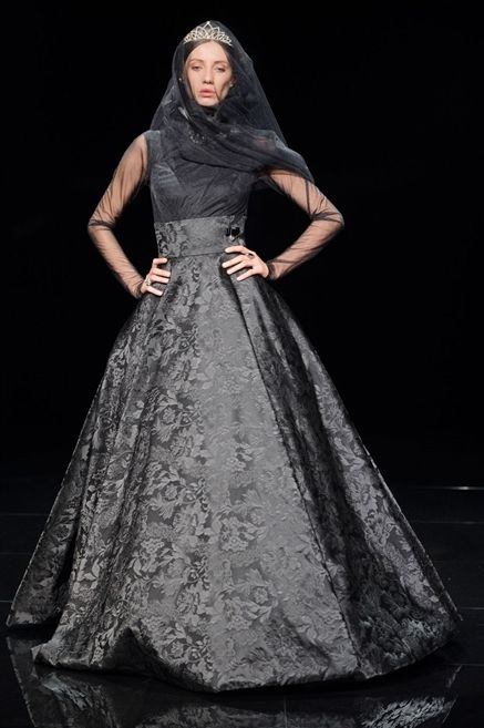 Clothing, Dress, Sleeve, Textile, Gown, Standing, Formal wear, One-piece garment, Fashion, Costume design,