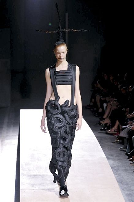 Clothing, Fashion show, Human body, Shoulder, Runway, Joint, Fashion model, Dress, Style, Fashion,