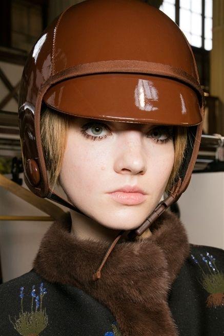 Personal protective equipment, Headgear, Helmet, Tan, Fur, Hearing, Leather,