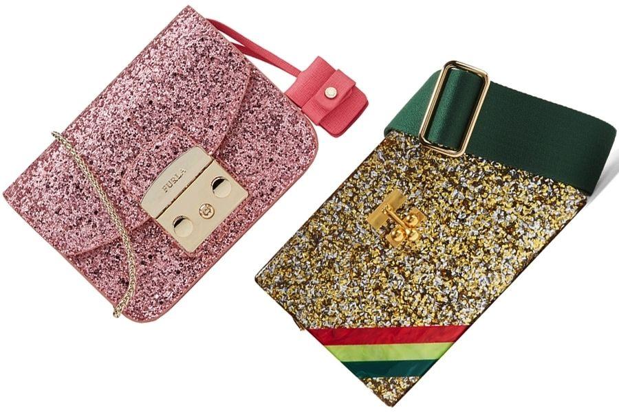 5 motivi per portare le borse a tracolla glitterate di moda per l'estate 2016