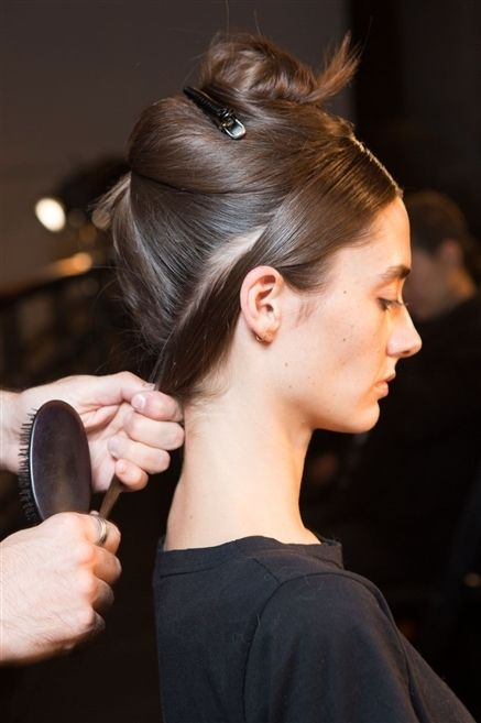 Ear, Hairstyle, Eyelash, Kitchen utensil, Style, Cutlery, Earrings, Spoon, Liver, Beauty salon,