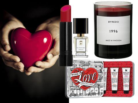 Red, Liquid, Pink, Magenta, Lipstick, Heart, Carmine, Cosmetics, Love, Beauty,
