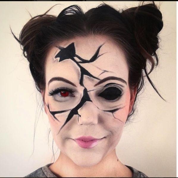 Trucco fai da te per Halloween  oltre 40 idee catturate su Instagram 861182b4dcab