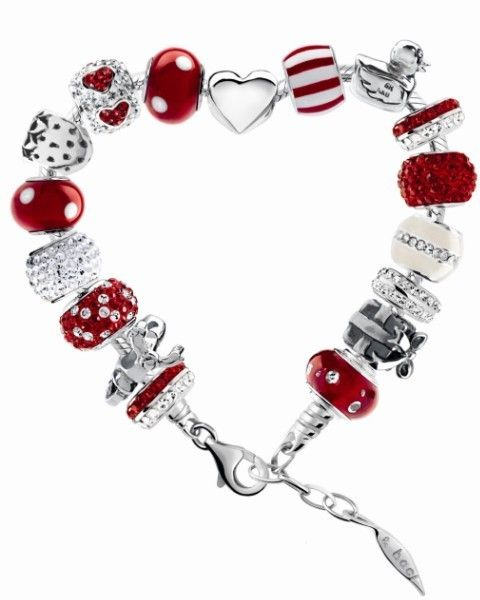 Red, Jewellery, Fashion accessory, Body jewelry, Fashion, Carmine, Natural material, Silver, Jewelry making, Bracelet,