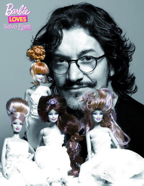 Hair, Head, Hairstyle, Forehead, Toy, Facial hair, Dress, Doll, Eyelash, Hair accessory,