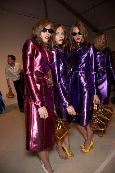 Eyewear, Vision care, Textile, Outerwear, Purple, Magenta, Sunglasses, Fashion, Jacket, Leather,