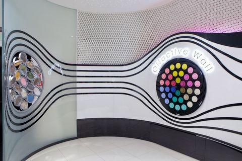 Purple, Colorfulness, Pattern, Violet, Design, Circle, Visual arts,