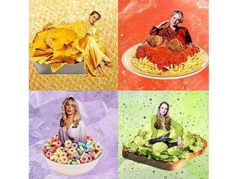 Human, Sweetness, Illustration, Painting, Confectionery, Mythology,