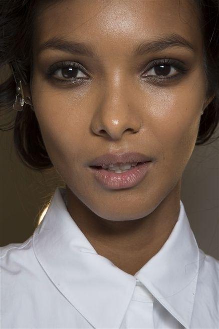 Lip, Cheek, Brown, Dress shirt, Hairstyle, Skin, Collar, Chin, Forehead, Eyelash,