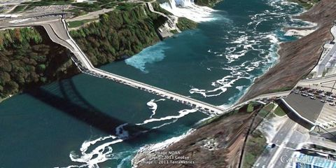 Body of water, Nature, Natural landscape, Water resources, Infrastructure, Coastal and oceanic landforms, Water, Landscape, Watercourse, Aerial photography,