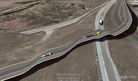 Road, Brown, Road surface, Infrastructure, Asphalt, Highway, Photograph, Landscape, White, Line,