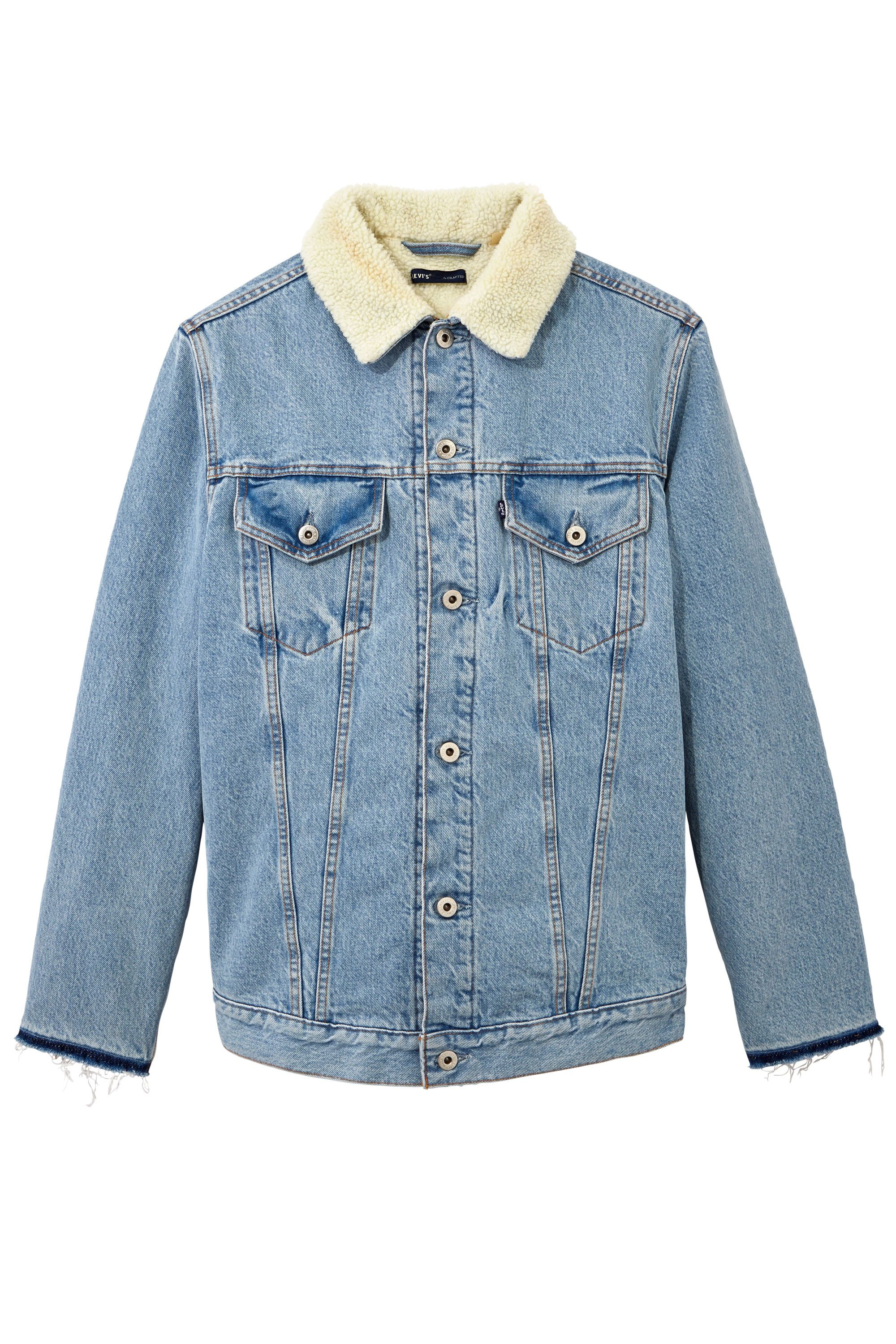 """<p>Levi's c/o Off-White Denim and Shearling Jacket, $1,437&#x3B; <a href=""""https://www.off---white.com/en/US"""" data-tracking-id=""""recirc-text-link"""">off---white.com</a></p>"""
