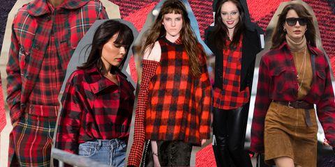 uk availability ec31f dbd49 Camicia a quadri rossa e nera: la moda 2017 la abbina così